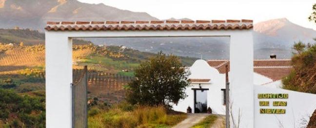 Cortijo De Las Nieves Holiday Rental Villa Andalusia Entrance