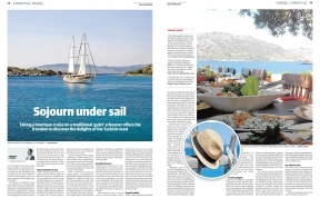 Sojourn Under Sail Andrew Forbes Sur Travel 24.05.2013
