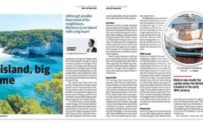 Menorca Minorca Andrew Forbes Travel Article