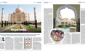 Golden Triangle India Travel Andrew Forbes