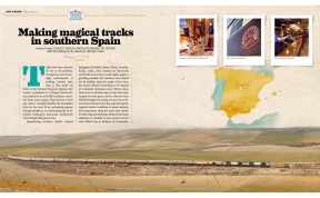 Title Page Andrew Forbes Al Andalus Train Luxury Travel Australia Magazine
