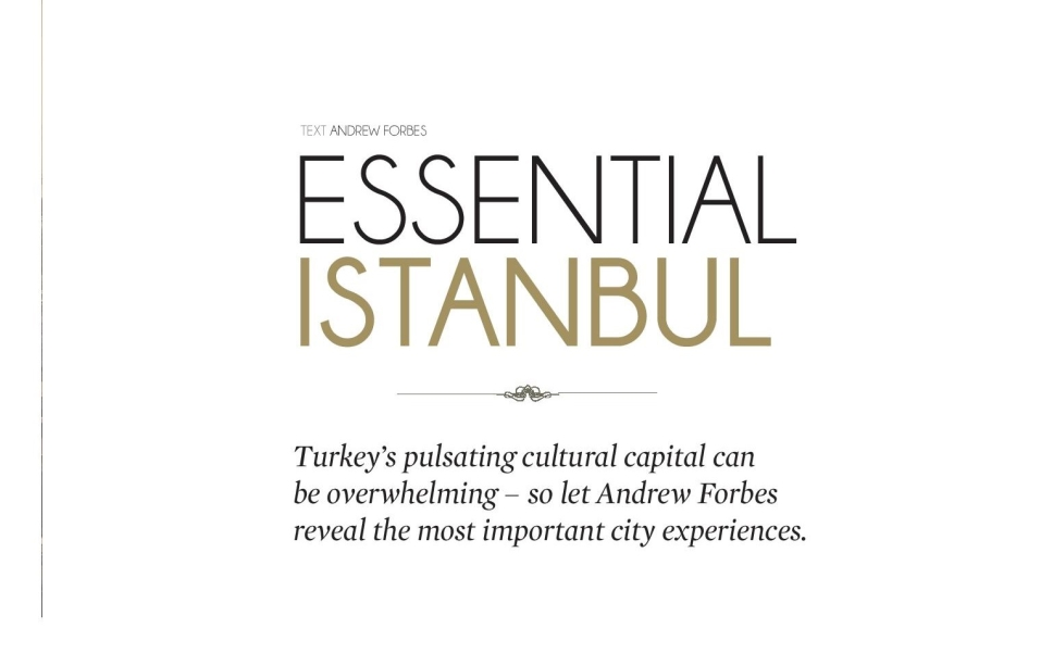 Andrew Forbes Essential Istanbul Le City Deluxe 1