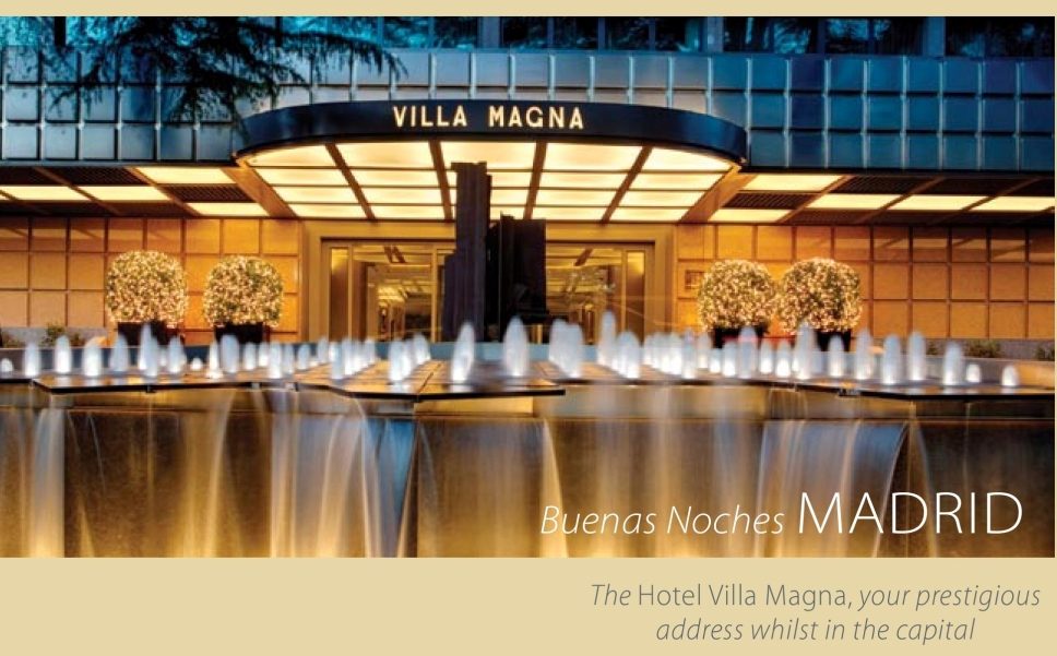Villa Magna Hotel Madrid feature by Andrew Forbes