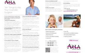 Aria Medical Group Advertorial by Andrew Forbes