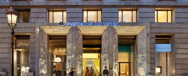 Mandarin Oriental Barcelona Hotel George Apostolidis