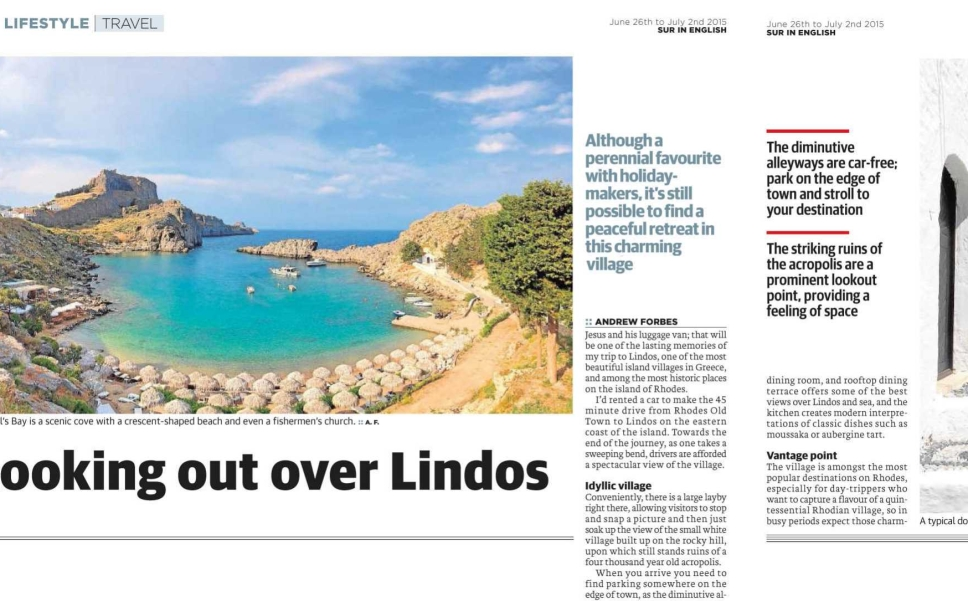 Lindos article sample