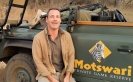 ANDREW FORBES ON SAFARI MOTASWARI