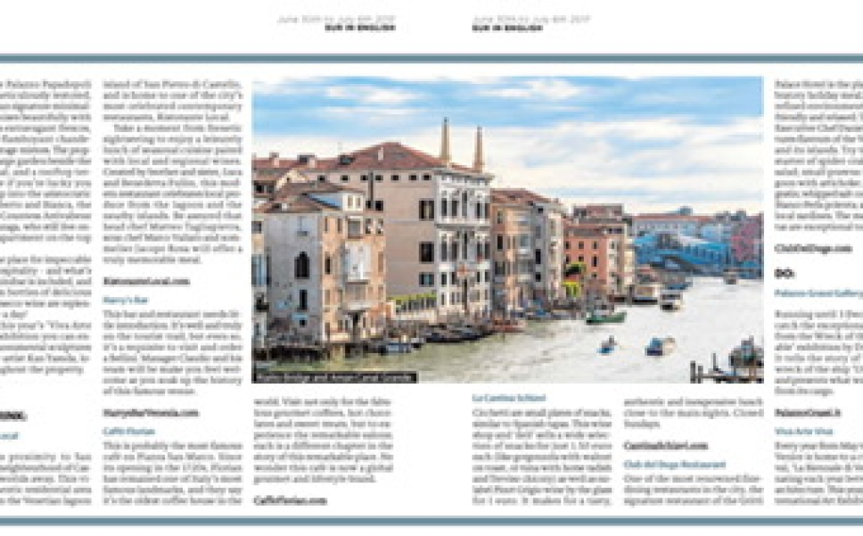 Venice Insider Guide Andrew Forbes