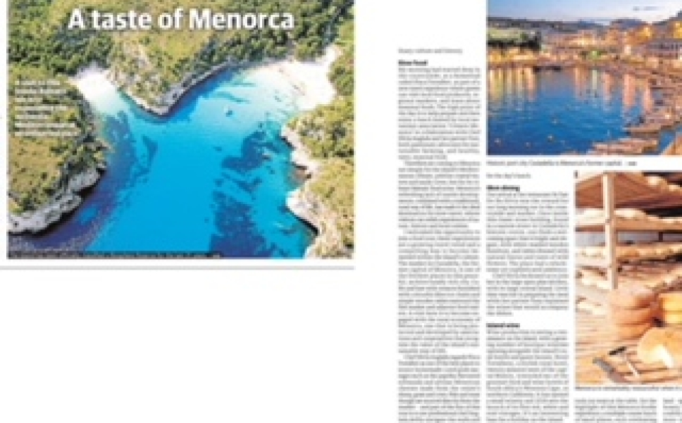 A Taste Of Menorca