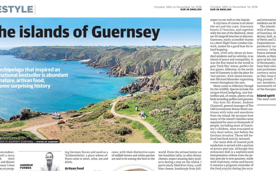 Guernsey Travel Writing 1