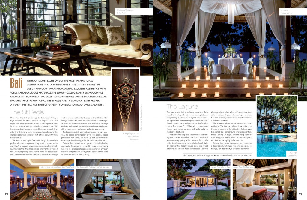 hotel inspired interiors and gardens home and lifestyle magazine andrew forbes. Black Bedroom Furniture Sets. Home Design Ideas