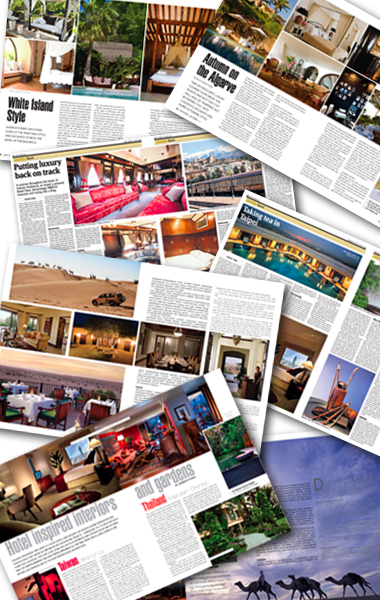 Writing travel articles for newspapers
