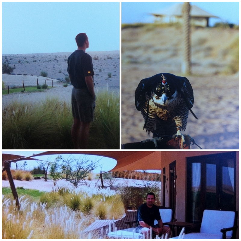 Andrew Forbes at Al Maha, Luxury Collection resort