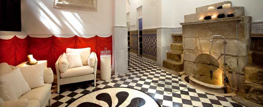 Themal area. Villa Padierna Thermas Hotel
