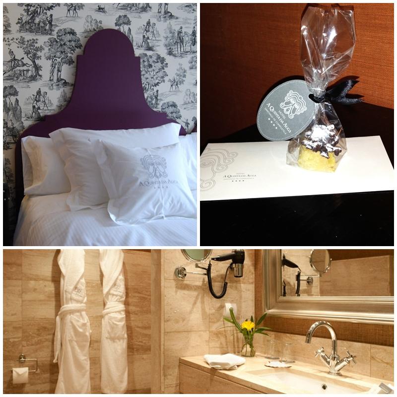 A Quinta da Auga Hotel Bedroom Andrew Forbes .com