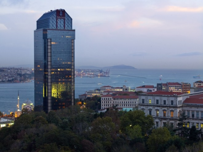 The Ritz Carlton Hotel Tower Istanbul
