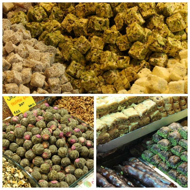 Turkish Delight and Tea Istanbul Spice Bazaar