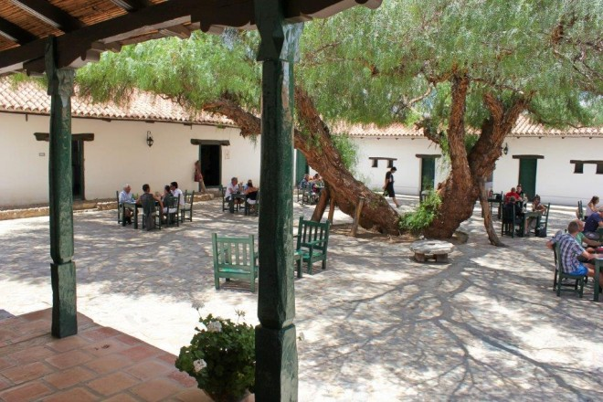 Hacienda de Molinos Patio