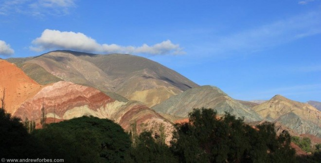 Cerro de los Siete Colores' the hill of seven colours purmamaca