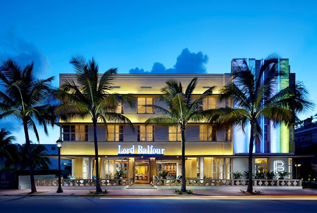Lord balfour boutique hotel art deco district miami for Small boutique hotels
