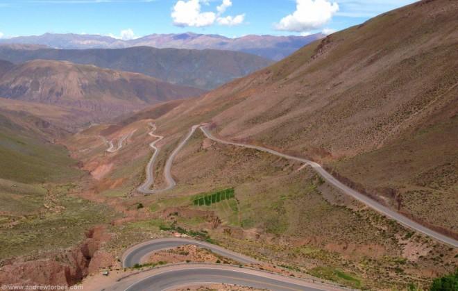 Mountain Pass jujuy argentina purmamaca