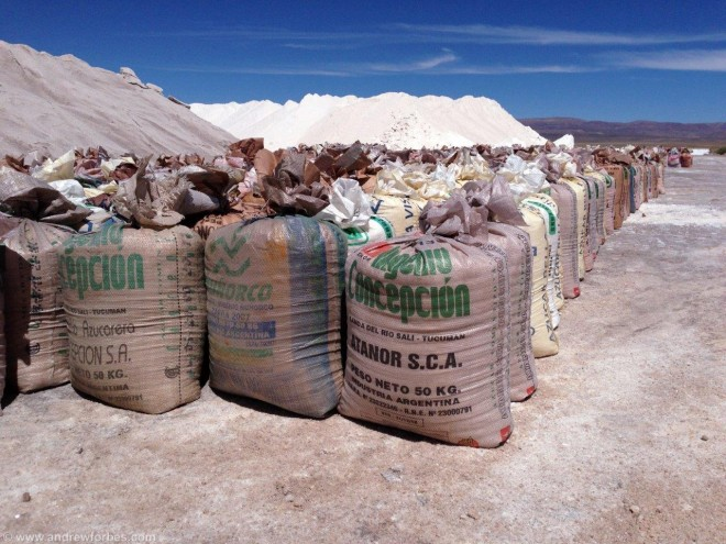 sacks of salt argentina
