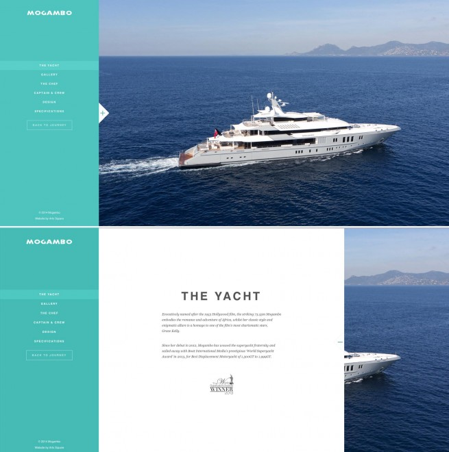 Andrew Forbes writes innovative copy for luxury super yacht (4)