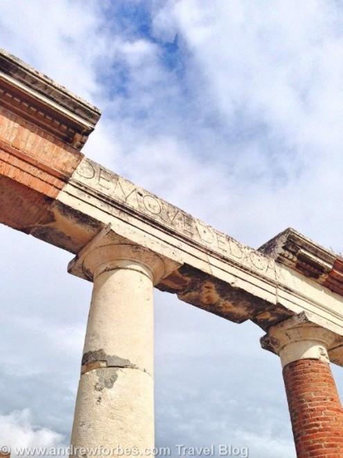 Pompeii visit MSC Splendida Cruise Andrew Forbes (1)