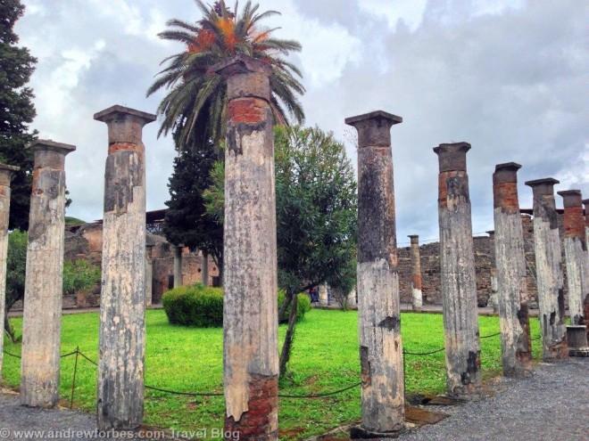 Pompeii visit MSC Splendida Cruise Andrew Forbes (2)