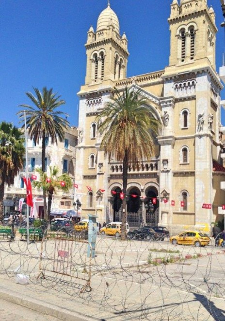 Tunisia, Tunis, Sidi Bou Said, Cathage MSC Splendida Andrew Forbes (1)
