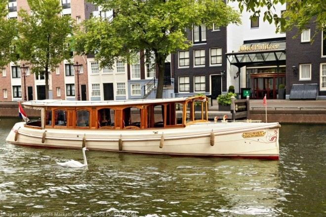 Pulitzer Hotels Salon Boat The Tourist