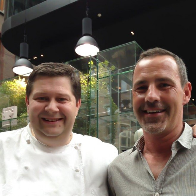 Andrew Forbes Travel Expert with Schilo Chef