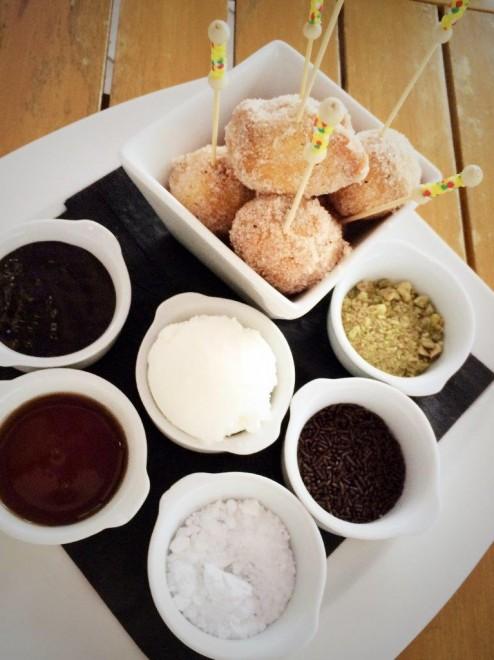 Mini Donuts at SeaGrill, Puente Romano