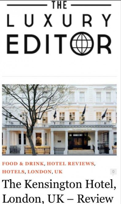 The Luxury Editor Review