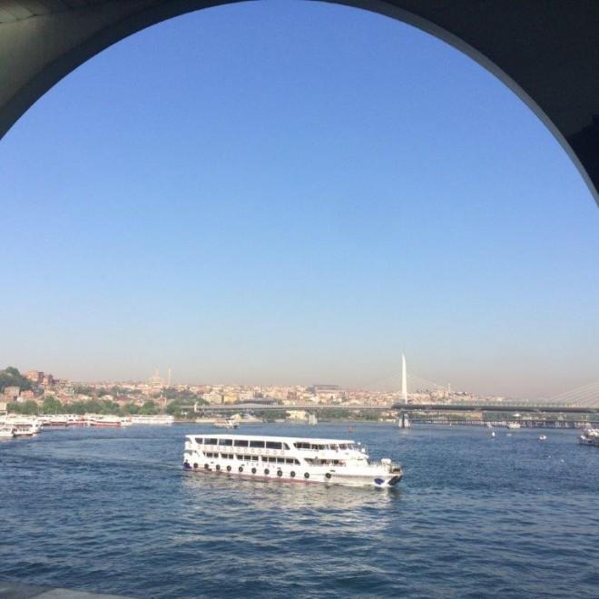 Boat Ride on Bosphorus