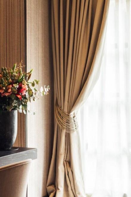 Hotel Sant Francesc room detail - curtian