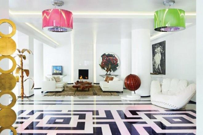 Pallas Athena Hotel - art lobby