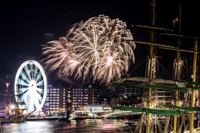 fireworks SAIL 2015