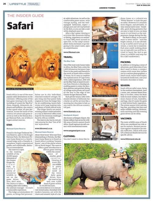 Insider Guide Safari