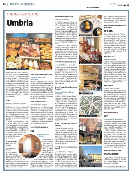 UMBRIA Insider Guide Andew Forbes
