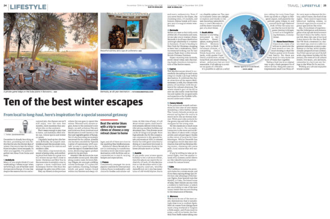 Winter Escapes by Andrew Forbes