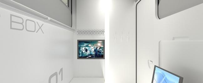 G White Interior Sleepbox UK