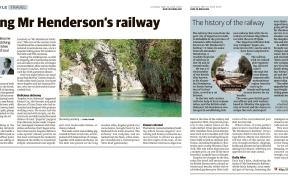Andrew Forbes Walking Mr Hendersons Railway 18.10.2013