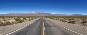 Panarama Of Road From Sachi Argentina