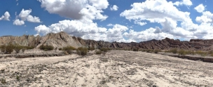Panaroma On The Road From Cafayate To Cachi
