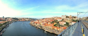 VERTIGINOUS VIEW The Upper Deck Panorama From Luis I Bridge