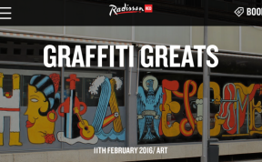 Malaga Street Art by Andrew Forbes for RadissonRED
